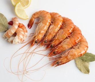 Cocer el marisco - Langostino